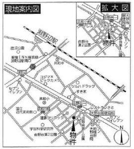 マップ(相模原市中央区由野台2-4-3)