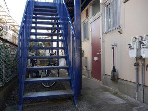敷地内の階段