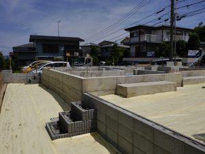 6/20 基礎工事の撮影写真です
