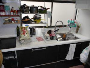 Panasonicのキッチンは約5年前にリフォーム
