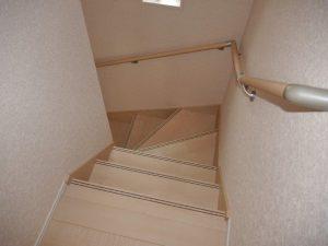 ⑤号棟階段