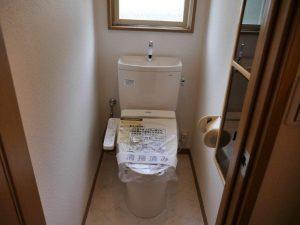 ウォシュレット付きトイレ(クリーニング済)
