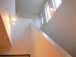 人気のリビング階段