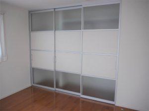 2階主寝室の収納