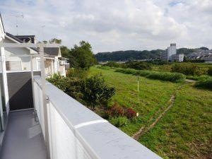 9/23 南側バルコニーからの眺望