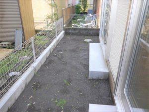 2号棟のお庭