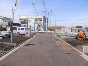 敷地内開発道路
