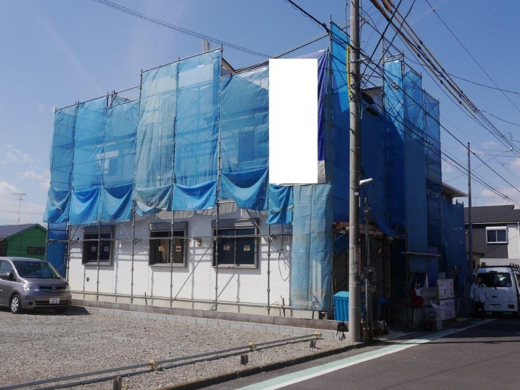 相模原市中央区横山3-20-6 屋上がある物件 全2棟現場