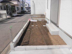 ②号棟お庭