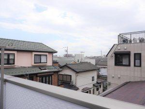 3階バルコニーからの眺望