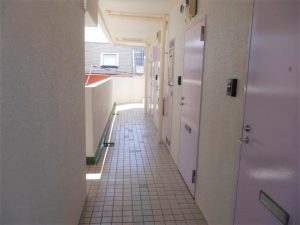 2階・共有通路