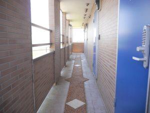 2階共有通路