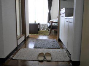 302号室玄関