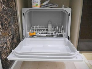 未使用の食洗機