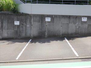 1台無料の駐車場