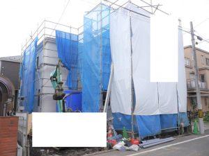 8/26 外壁工事完了済