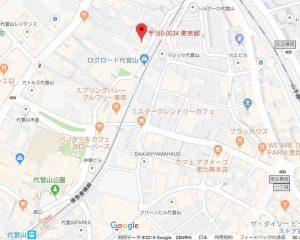 現地マップ(代官山町7-7)