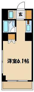 2階~6階間取図