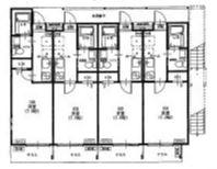 1階~3階共通間取図